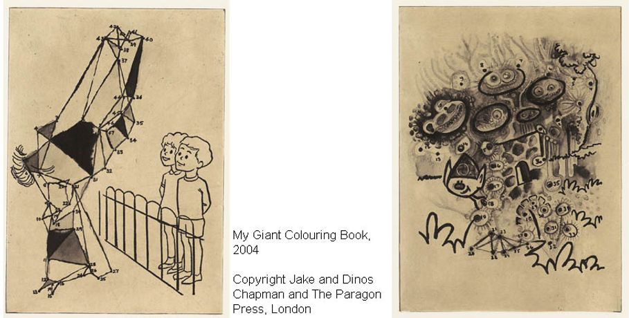 Jake & Dinos Chapman: My Giant Colouring Book: Image 0