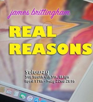James Brittingham. Real Reasons