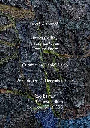 James Collins / Laurence Owen / Tom Volkaert. Lost & Found