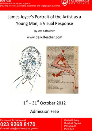 James Joyce's Portrait of the Artist as a Young Man, a Visual Response; by Des Kilfeather