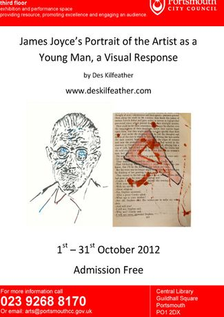 James Joyce's Portrait of the Artist as a Young Man, a Visual Response; by Des Kilfeather: Image 0