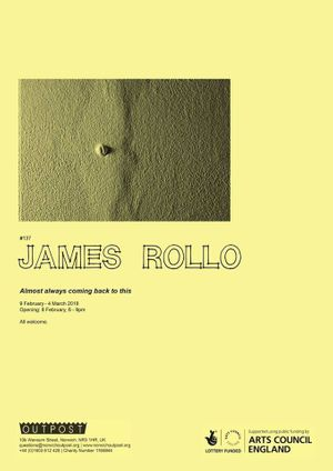 James Rollo. Almost always coming back to this