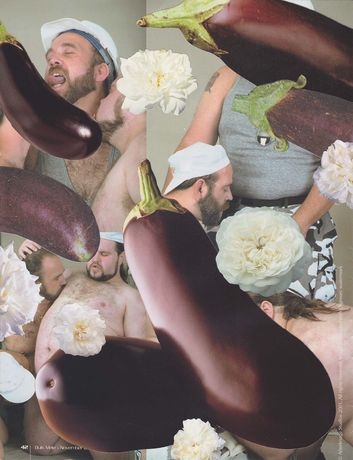 James Unsworth: Bulk Male Flower Collage 48