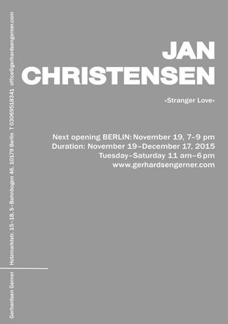 Jan Christensen. Stranger Love: Image 0