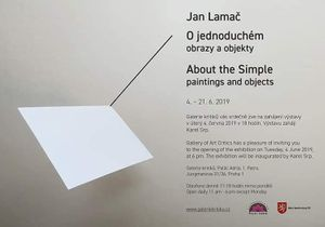 Jan Lamač - About the Simple