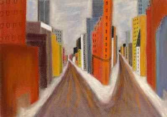 CITYSCAPE BY JANET MILNES