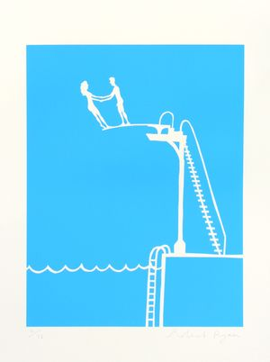 Rob Ryan, Diving Board Picture