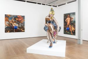 Jeff Koons at Almine Rech, installation view