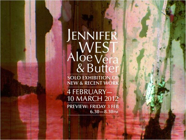 Jennifer West: Aloe Vera & Butter: Image 0