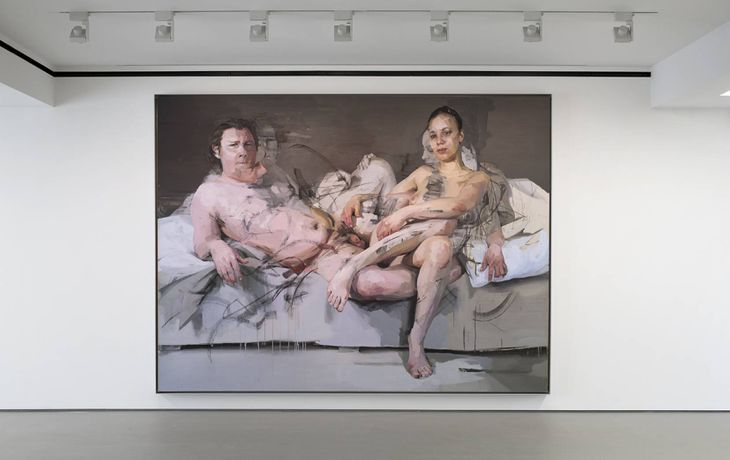 Jenny Saville at The George Economou Collection