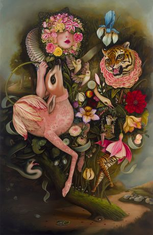Jennybird Alcantara : Reveries of the Untamed Darlings