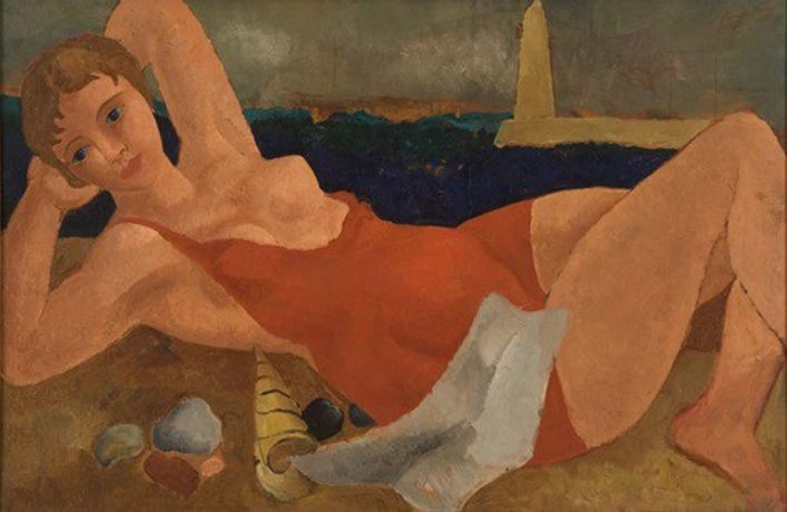 Image: Christopher Wood, The Bather, c. 1925-26. Jerwood Collection.