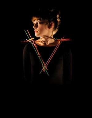 Marjorie Schick, Dowel Necklace #1