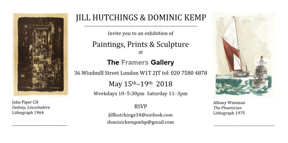 Jill Hutchings & Dominic Kemp: Image 0