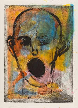 Jim Dine, Poet Singing Beautifully, 2016. Courtesy artist and Alan Cristea Gallery, London
