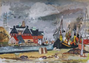 Joan Charnley - Norfolk Harbour