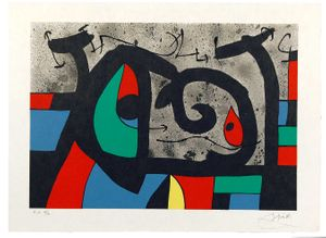 Joan Miró - Graphic works