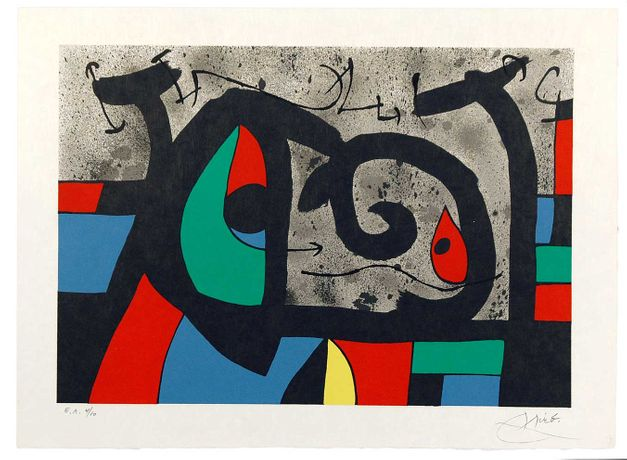 Joan Miró - Graphic works: Image 0