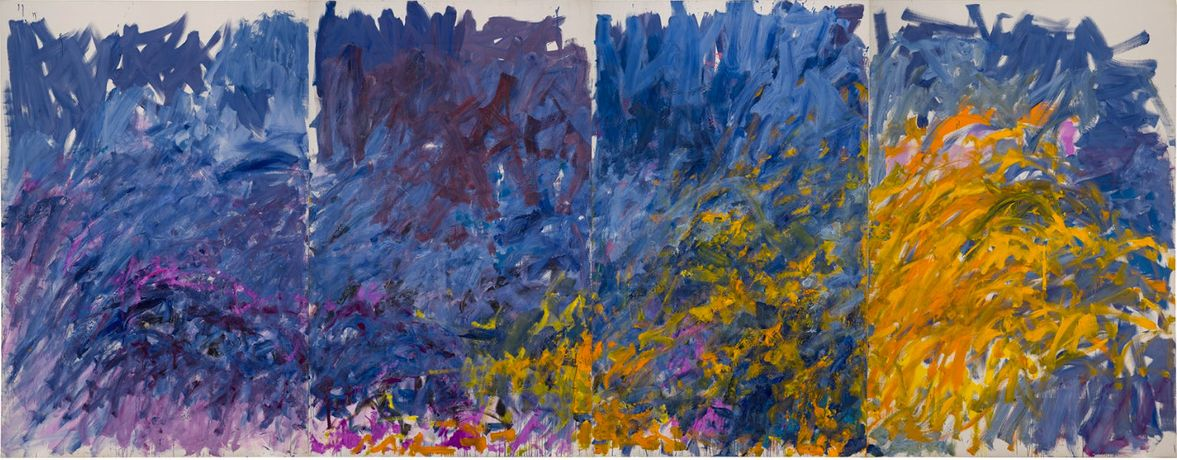 Joan Mitchell I carry my landscapes around with me