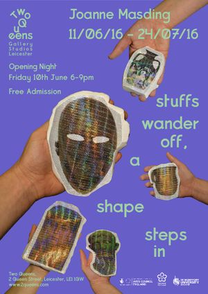 Joanne Masding - stuffs wander off, a shape steps in