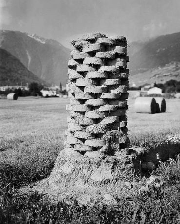 Rased Totems, A Photograph of A Totem, 25th June 2016, Martigny (CH), Lambda Print, 150cm x 105cm