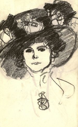 John Duncan Fergusson - Works on Paper