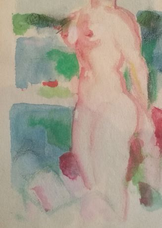 Female Nude, Antibes