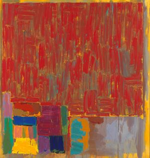 John Hoyland at Tate Britain as part of Spotlight series