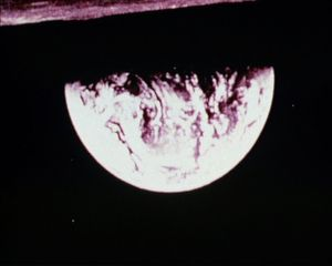 John Latham, Erth, 1971, Ekta 16mm, colour, sound converted to DVD, 25 min, edition 1 of 3+2 ap, © The John Latham Foundation, Courtesy Lisson Gallery