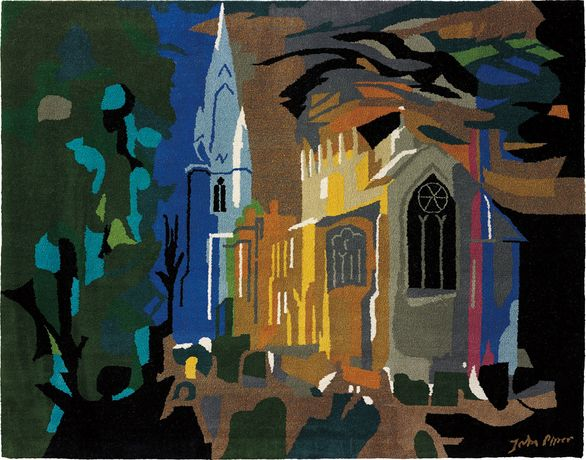 John Piper 'Long Sutton' tapestry