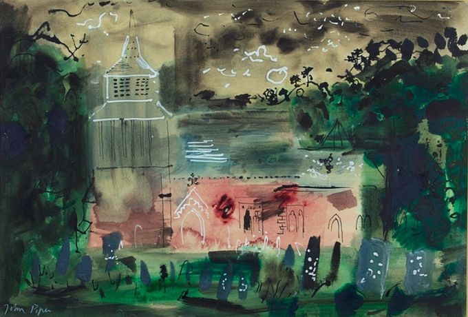 Orcop, Herefordshire, mixed media