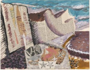 John Piper  Beach with Starfish c.1933–4 © The Piper Estate