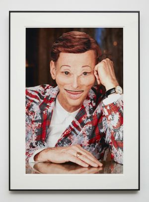 John Waters, Beverly Hills John, 2012, C-Print 76,2 x 50,8 cm, 92,7 x 67,3 cm (framed), © John Waters, Courtesy Sprüth Magers / Marianne Boesky Gallery, New York