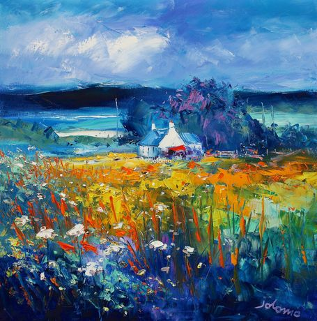 Summerlight on Isle of Gigha by Jolomo