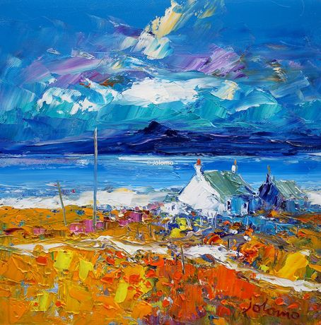 Morninglight Iona & Ben More by Jolomo