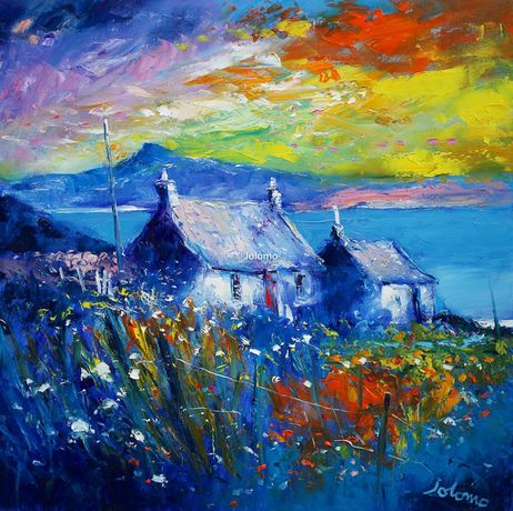 Early Morninglight over Iona lookng to Benmore by Jolomo