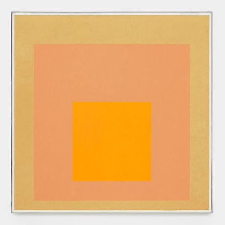 Josef Albers, Homage to the Square, 1971. Oil on Masonite, 48 x 48 inches (121.9 x 121.9 cm). © 2016 The Josef and Anni Albers Foundation/Artists Rights Society (ARS), New York