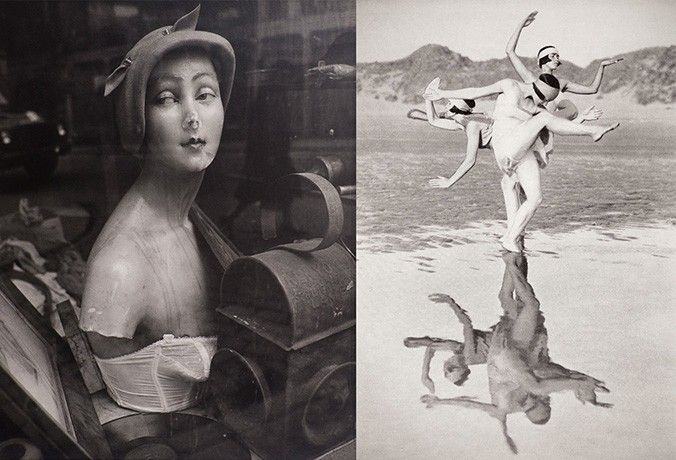 Image: Left: Joseph McKenzie, from 'Women of Dundee' (1964-66) ©The Artist's Estate, from the collection of Dundee City Council (Dundee Art Galleries and Museums)  Right: Fred Daniels, 'Reflections, Margaret Morris and her Dancers, Harlech, Wales' (1919) ©Fred Daniels estate, courtesy Perth Museum and Art Gallery.