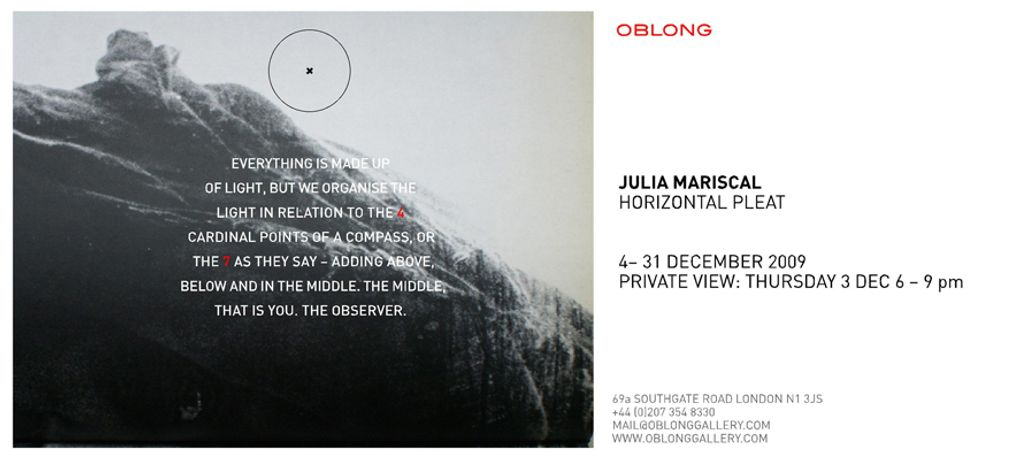 Julia Mariscal Solo show- Horizontal Pleat: Image 0
