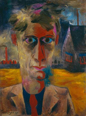 Julian Trevelyan, Self-portrait (1940) © National Portrait Gallery / The Julian Trevelyan Estate