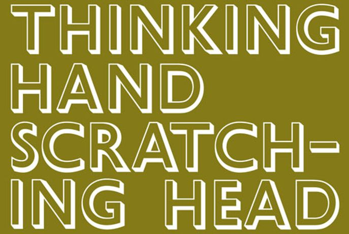 JUSTIN CARTER: Thinking Hand Scratching Head: Image 0