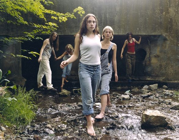 JUSTINE KURLAND The Wall 2000 C-print