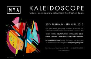 Kaleidoscope; Urban-Contemporary colour from Spain