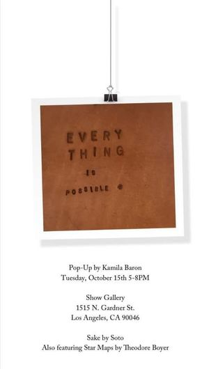 Everything is possible - Kamila Baron