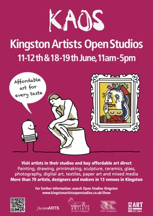 KAOS Kingston Artists Open Studios