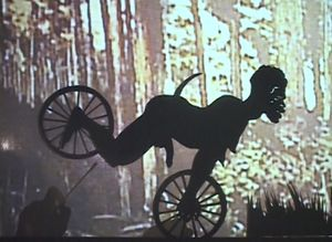 Kara Walker Fall Frum Grace, Miss Pipi's Blue Tale (Film Still), 2011 Video (color, sound) © Kara Walker Courtesy Sprüth Magers and Sikkema Jenkins & Co.