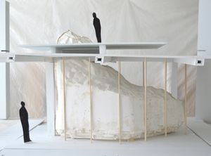 Katrín Sigurðardóttir, prototype model of Supra Terram, 2015. Courtesy of the artist and Parasol unit.