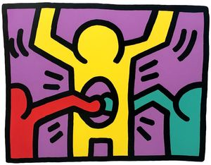 Keith Haring 'Pop Shop 1'