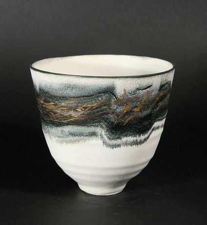 Bowl, Limoges Porcelain by Kyra Cane