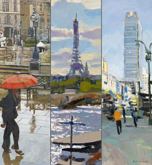 Ken Howard: LONDON PARIS NEW YORK